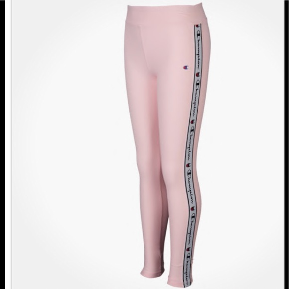 8d8241380ab384 Champion Pants | Baby Pink Leggings | Poshmark